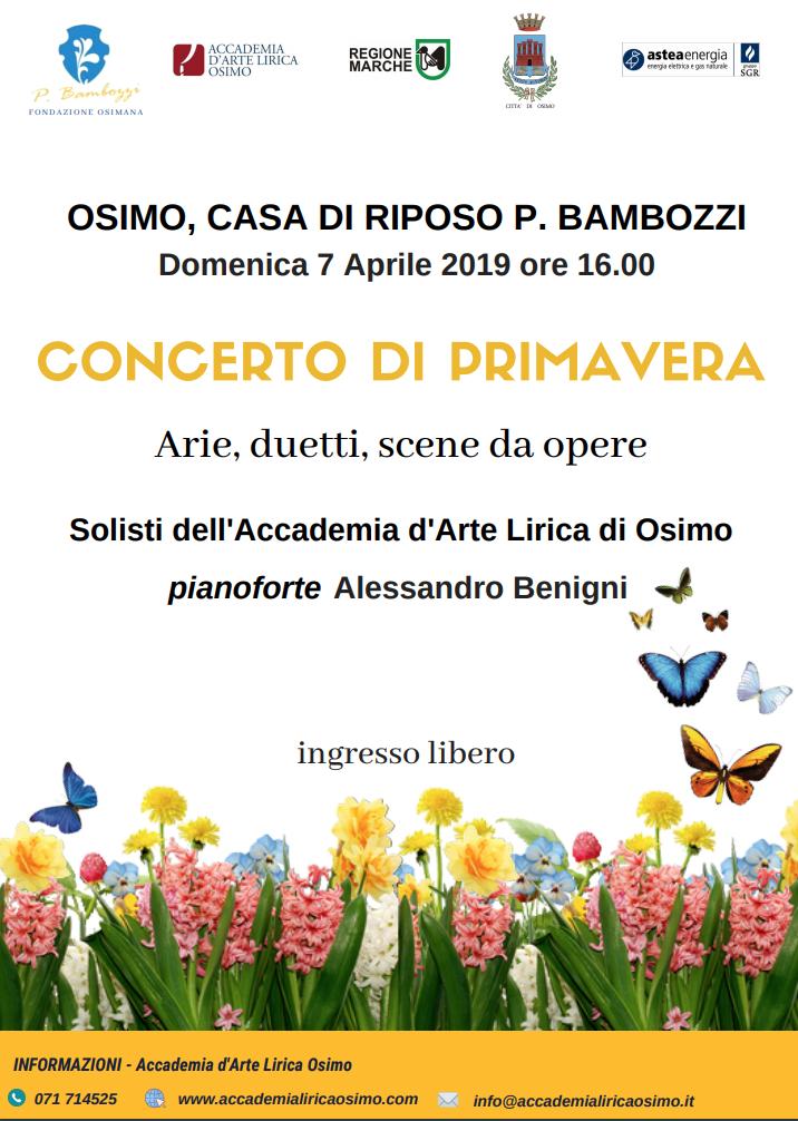 Concerto di Primavera Locandina